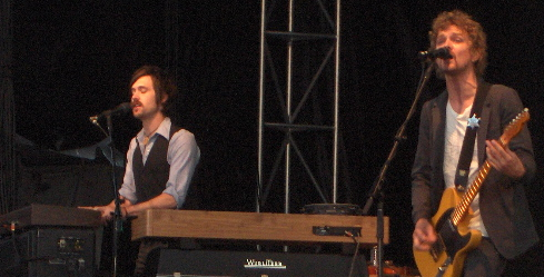 brendan benson and keyboardist New American Music Union: Day Two in Review