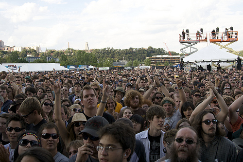 crowd1 New American Music Union: Day Two in Review