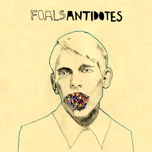 foalsantidotescover1 Album Review: Foals   Antidotes