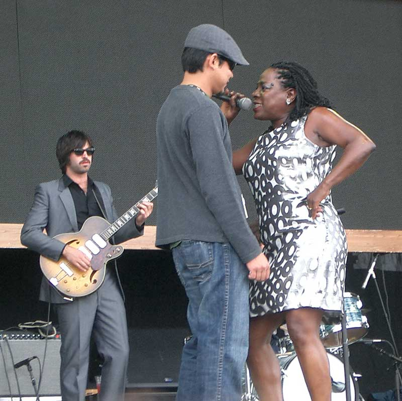 sharon jones Outside Lands in Review: Day Three (8/24)