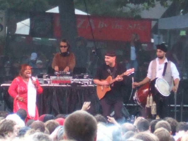 cheb i sabbah 1002 nights feat riffat sultana Bumbershoot 2008 works hard over Labor Day weekend