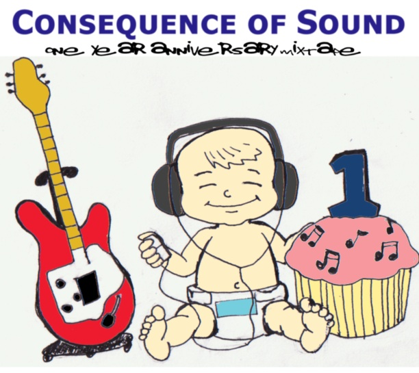 mixtape album cover Consequence of Sound celebrates one year!