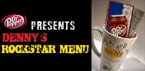 rockstarmenucontest CoS Giveaway: Dennys and Rockstars