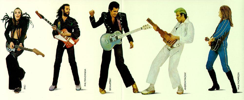 roxy band0 Icons of Rock: Andy Mackay