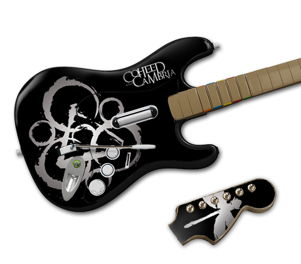 coheed logo dp rockband fs Halloween may be over, but you can still pretend to be a Guitar Hero!
