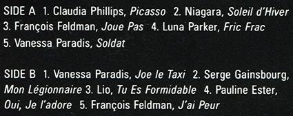 express song list Audio Archaeology: Musique DExpress (1990)
