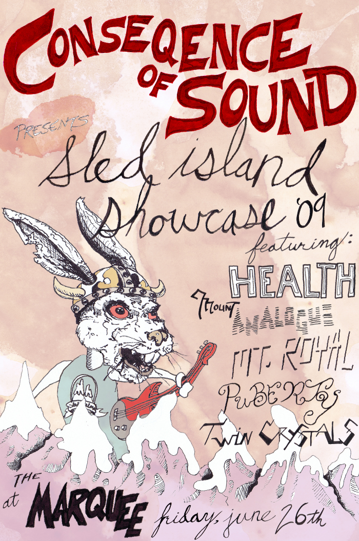 cos sled island poster CoS is having a party! A Sled Island party!