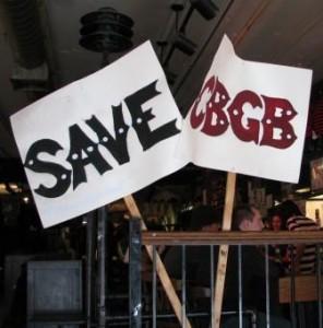cbgbsavecbgb 296x300 Rock History 101: CBGBs