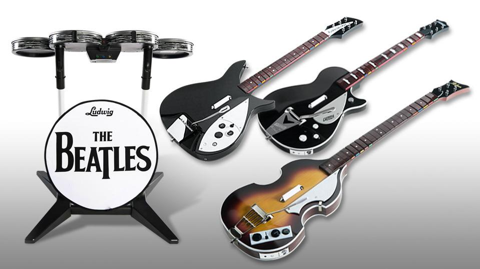 rockband The Beatles: Rock Band detailed