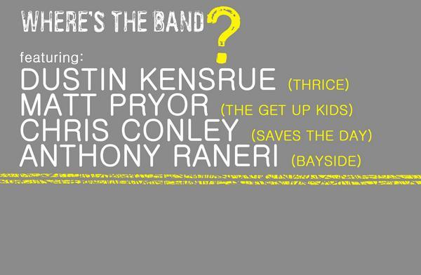 wheresband YouTube Live: Wheres The Band? Tour