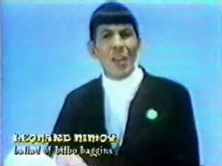 balladbilbobaggins Break Yo TV: Leonard Nimoy   The Ballad of Bilbo Baggins