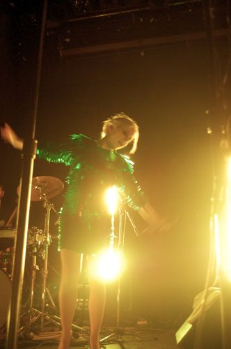 boots2 Little Boots dazzles Bowery Ballroom (9/16)