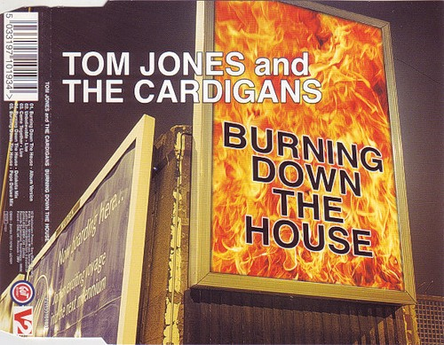 burning Break Yo TV: The Cardigans and Tom Jones   Burning Down the House