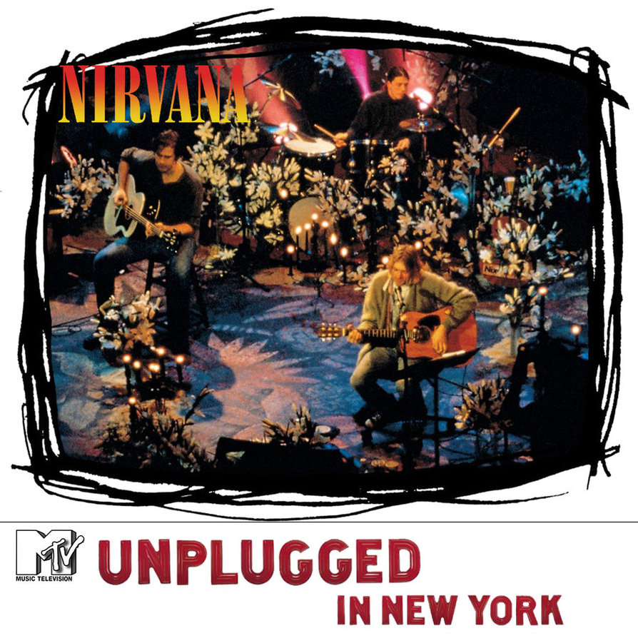 nirvana  unplugged in new york by wedopix d399qaq The Top 10 Grunge Albums of All Time