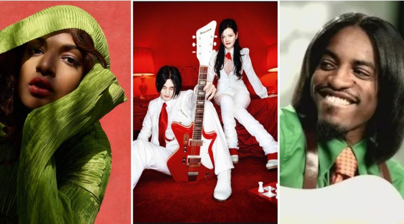 M.I.A., The White Stripes, Andre 3000