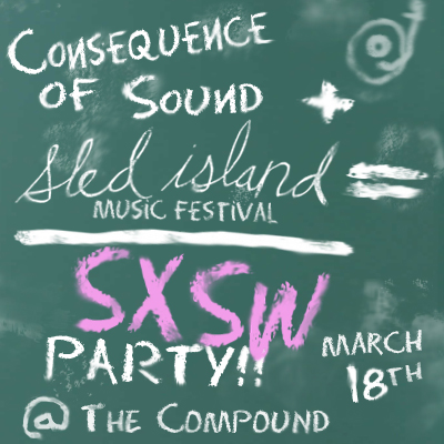 sxswparty promo 400x400 CoS & Sled Island Music Festival team up for SXSW 2010 day party!