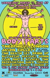 body parts leonardo web final1 168x260 CoS is heading to South by Southwest!
