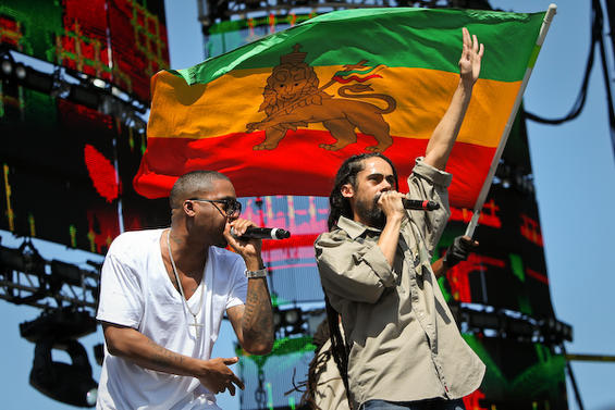 damian marley COS @ Ultra Music Festival 10: Day Two