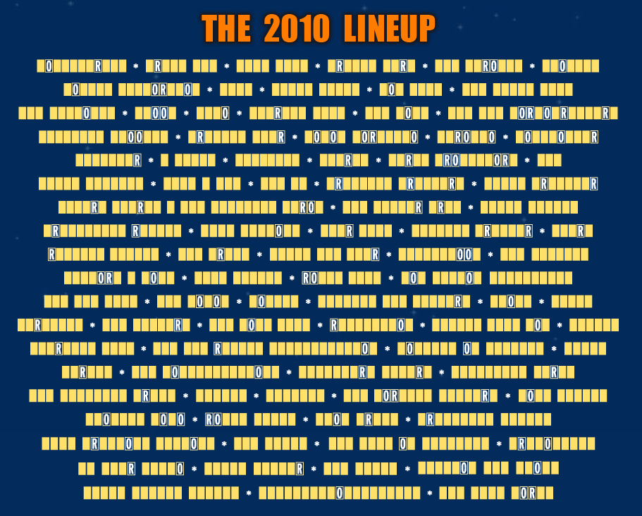 lolla22 Guess the Lollapaloozas 2010 Lineup: Day 2
