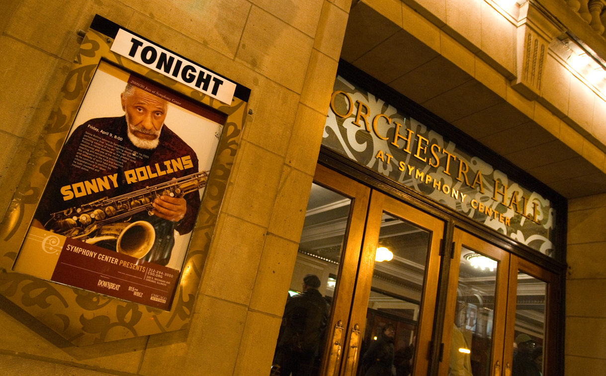 sr 2 Sonny Rollins brings the Joy of Sax to Chicago (4/9)