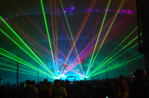 laser floyd Late Nights and Superjams: CoS at Wakarusa 10