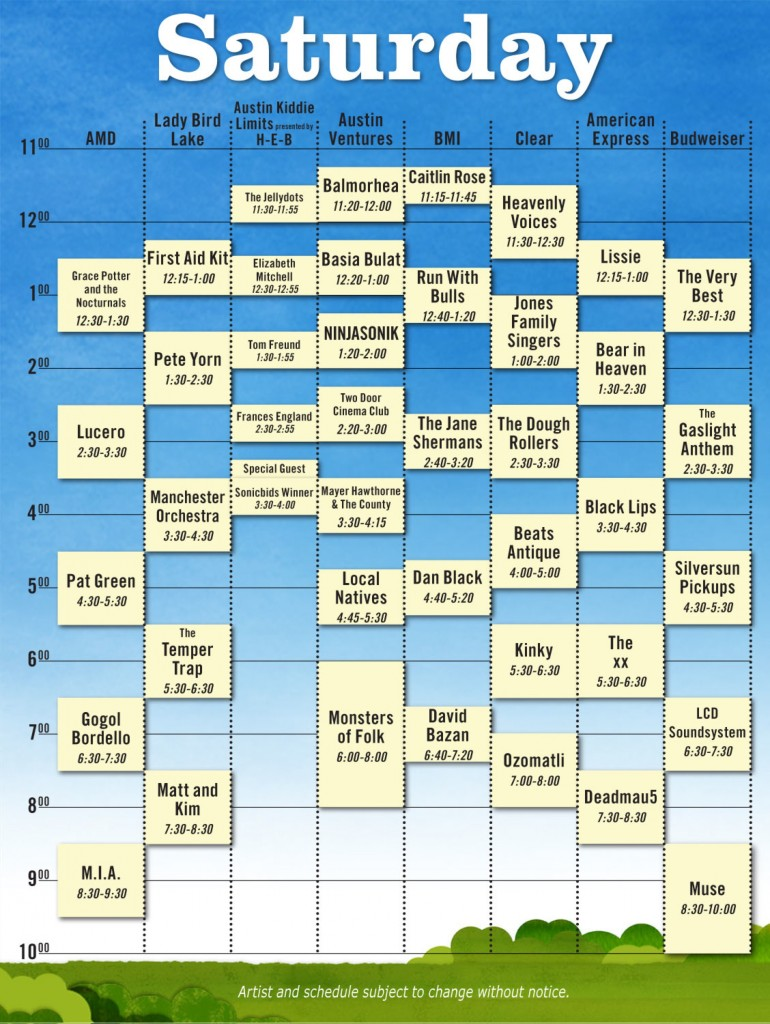 sat 770x1024 Austin City Limits reveals 2010 schedule