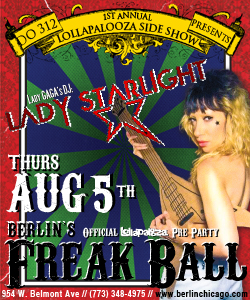 web ad CoS Presents: Berlins Freak Ball: Official Lolla Pre Party