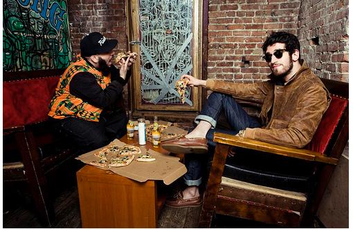 chromeo pizza Interview: Chromeo