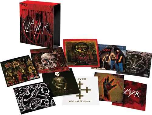slayer vinyl big1 Slayer to release vinyl box set