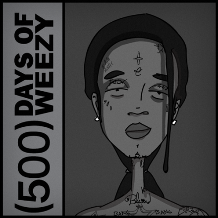 500 days of weezy 440x440 How The Caged Bird Still Raps: Lil Waynes Career In Lockup
