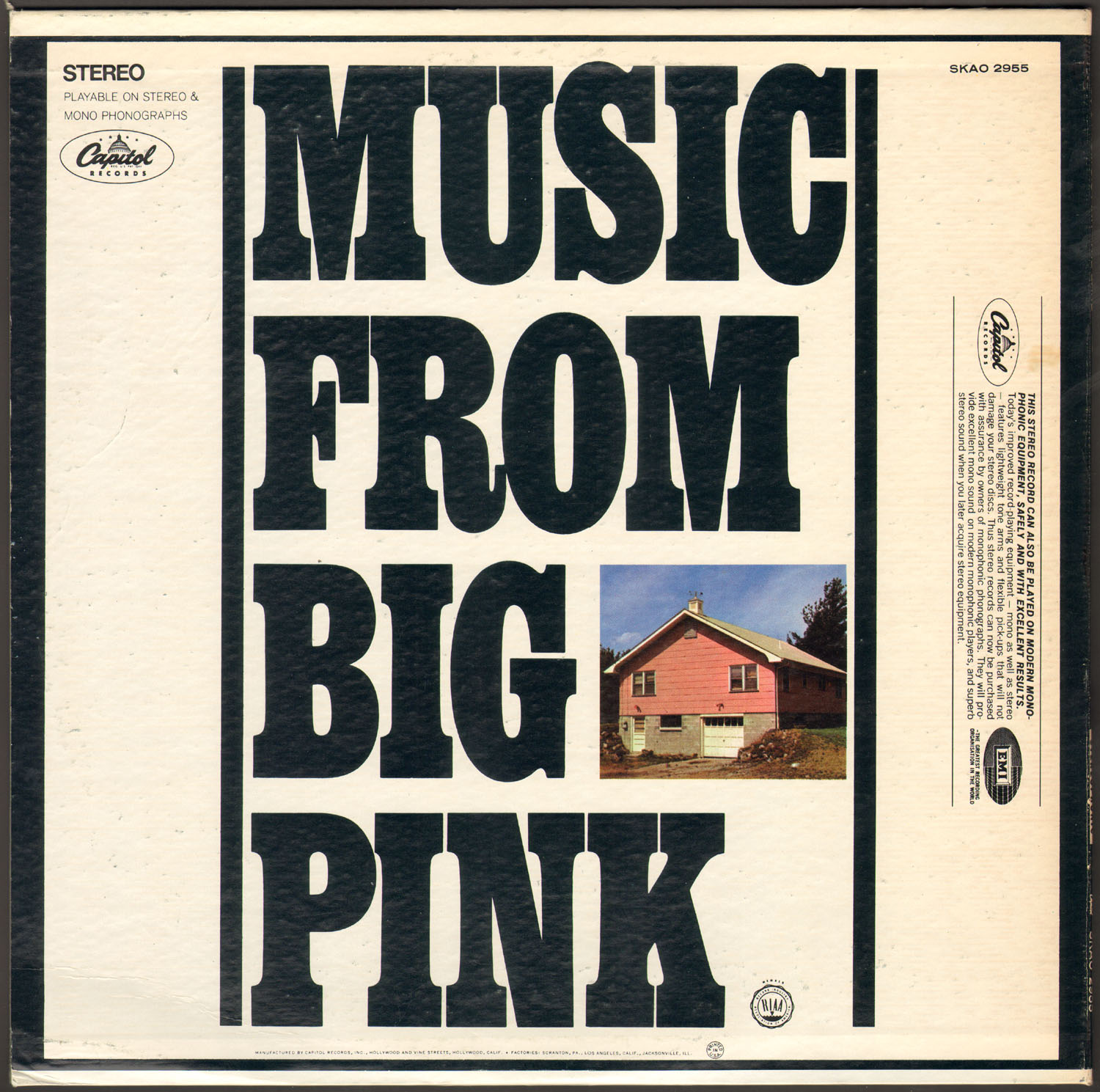 Music From Big Pink The 100 Greatest Albums of All Time
