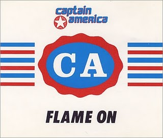 captain america flame on Audio Archaeology: When A Bands Name Isnt Theirs!