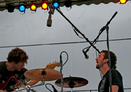 japandroids Seattle, Im Listening: CoS at Bumbershoot 10