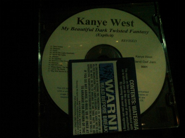 mbdtf Kanye West confirms My Beautiful Dark Twisted Fantasy tracklist