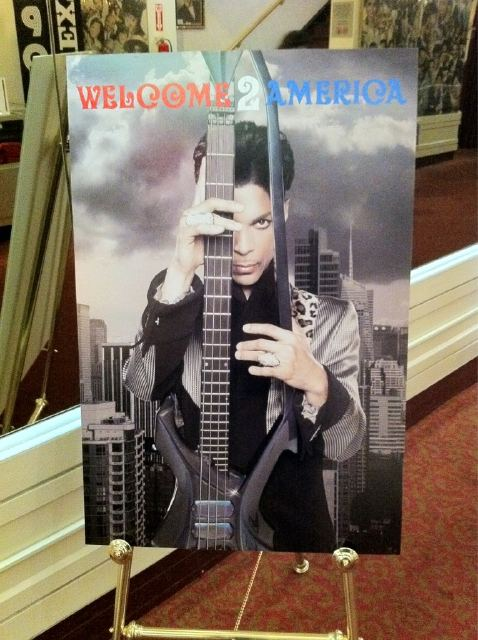 prince welcome 2 america Prince announces Welcome 2 America tour