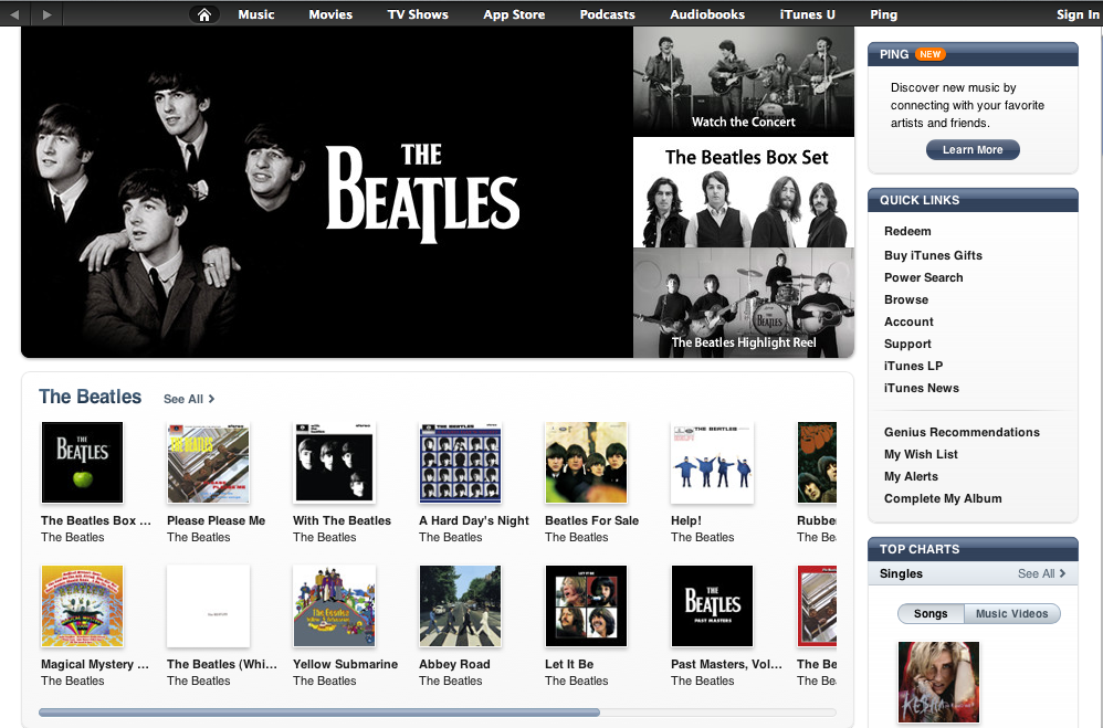beatles itunes The Beatles are finally coming to iTunes
