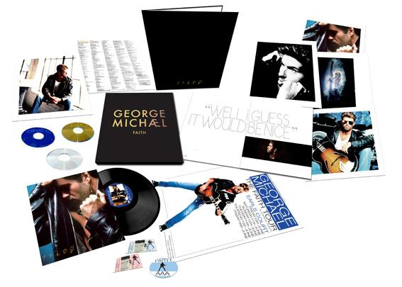 gm box1 George Michael announces epic reissues of Faith