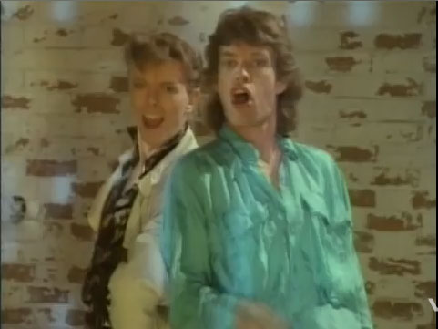 "dancing2 Break Yo' TV: David Bowie and Mick Jagger – ""Dancing in the Street"""