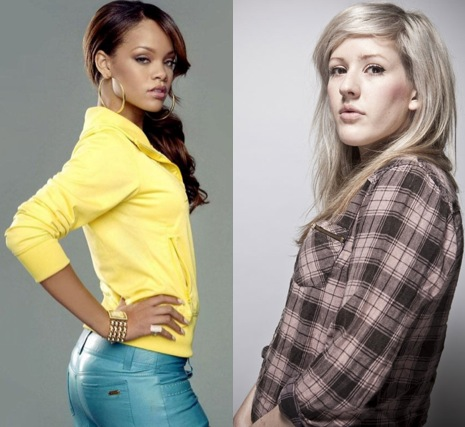 ellie rihanna1 Check Out: Ellie Goulding covers Rihannas Only Girl