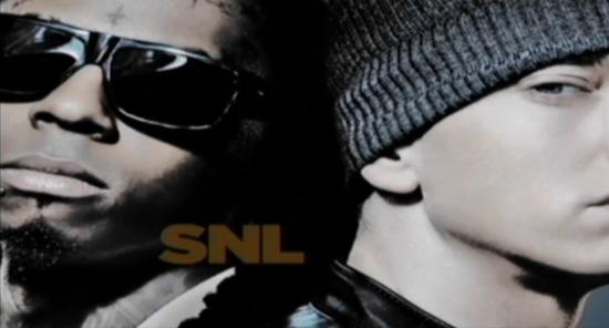 eminem weezy Watch: Eminem and Lil Wayne play Saturday Night Live