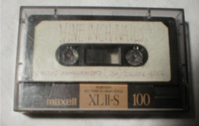 nin cassette Hear rare Nine Inch Nail demos, then buy them on eBay