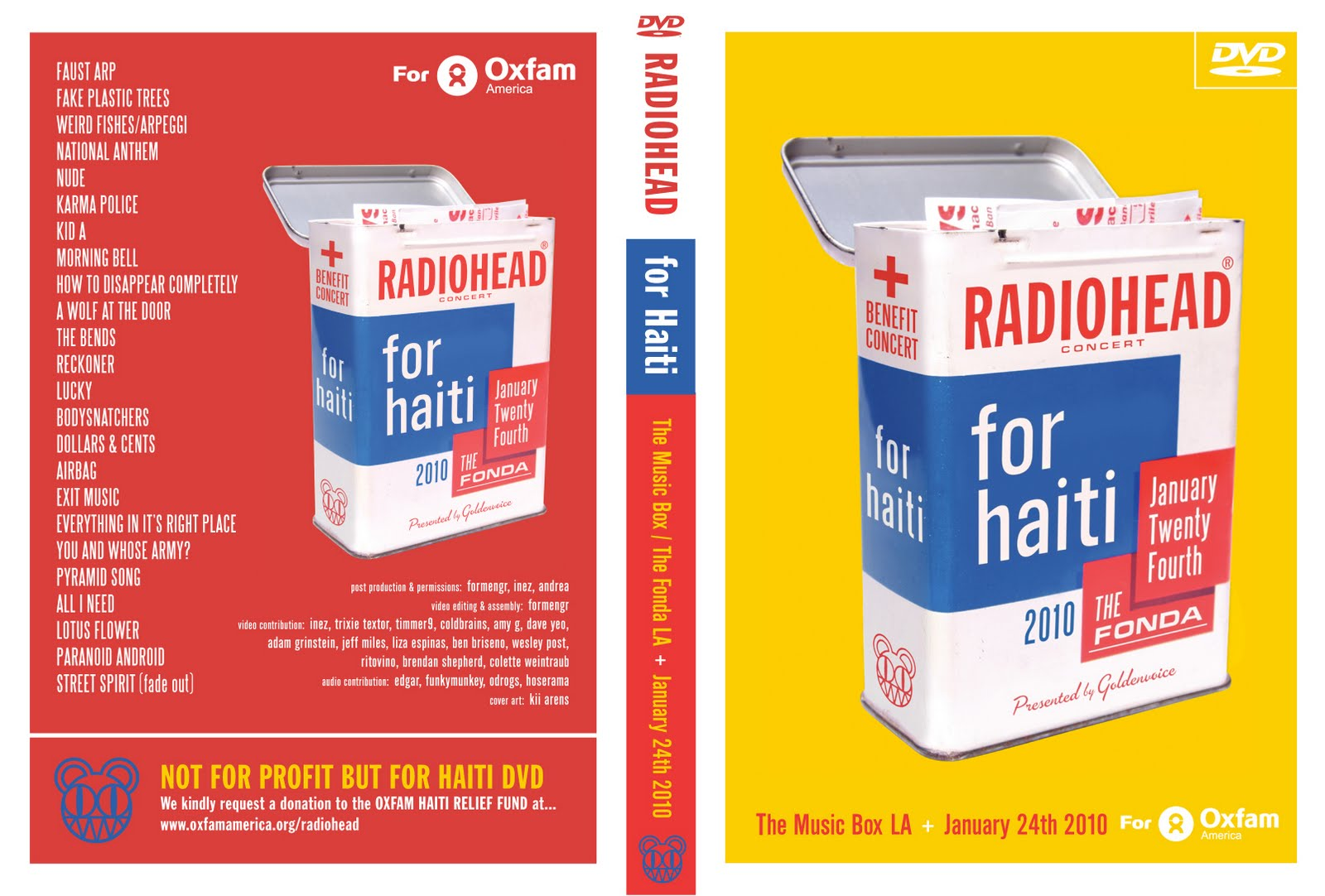 radiohead haiti dvd Download: New Radiohead authorized concert film