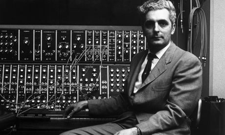robert moog 001 Cinema Sounds: Tron