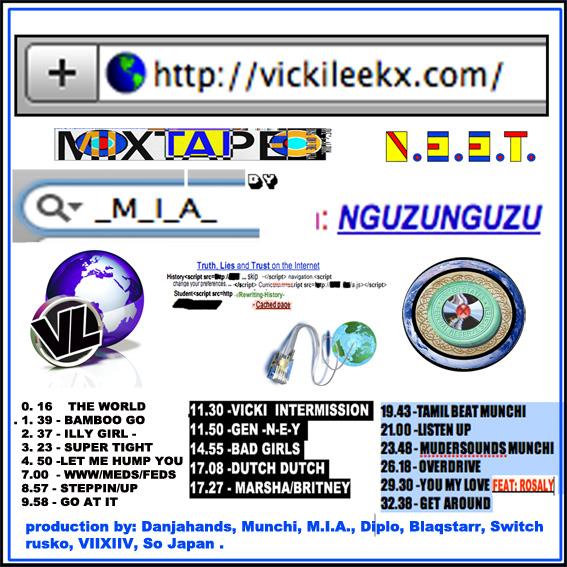 vicki leekx Download: M.I.A.s new mixtape, Vicki Leekx