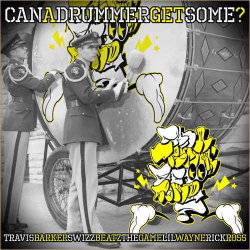 "can a drummer get some Check Out: Travis Barker ft. Lil Wayne & Rick Ross   ""Can A Drummer Get Some"""