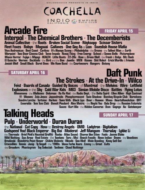 coachella fake 5 Coachella 2011's best fake lineups