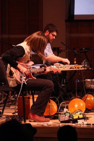 deacon sopercussionnyc4 Dan Deacon, So Percussion revisit roots at NY's Ecstatic Music Festival (1/20)