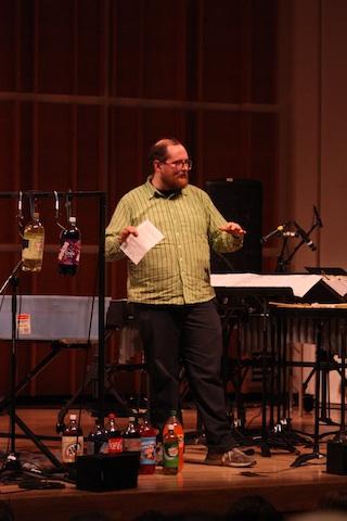 deacon sopercussionnyc6 Dan Deacon, So Percussion revisit roots at NY's Ecstatic Music Festival (1/20)