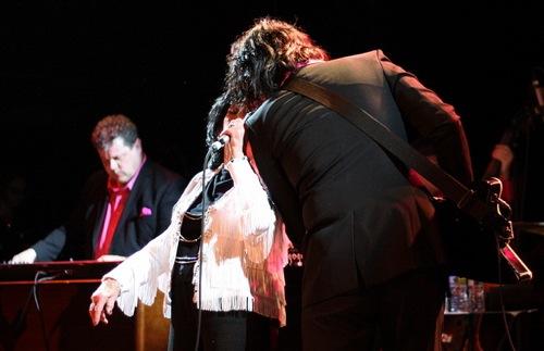 jack wanda 1 Jack White & Wanda Jackson: Rock legends unite in Williamsburg (1/21)