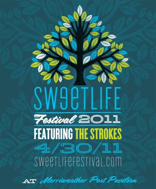 2011 02feb 28 sweetlifefest The Strokes to headline Sweetlife Festival 2011